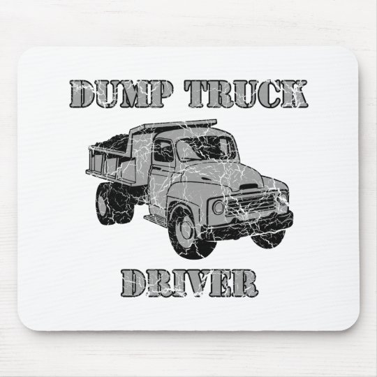 Dump Truck Drivers Mouse Pad
