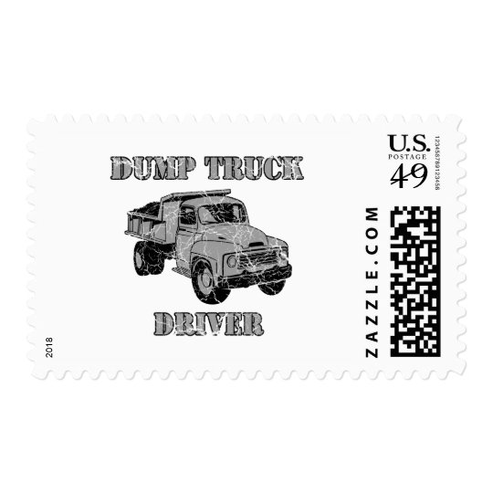 Dump Truck Drivers Postage