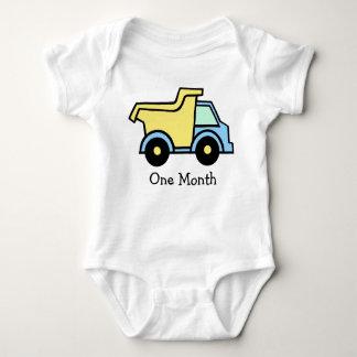 Dump Truck First Month T-shirt