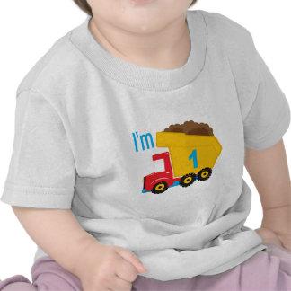 Dump Truck I'm 1 T-shirts