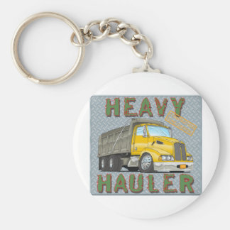 Dump Truck Keychain