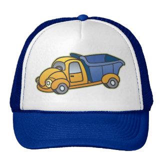 Dump Truck Kids Art Hat