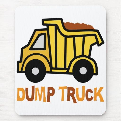 Dump Truck Mousepads