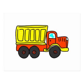 Dump Truck Postcard