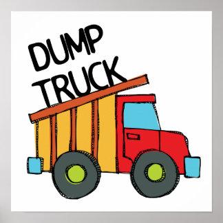 Dump Truck Posters