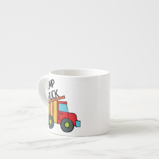 Dump Truck 6 Oz Ceramic Espresso Cup