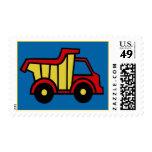 Dump Truck Stamp