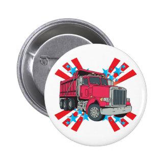 Dump Truck Stars Button