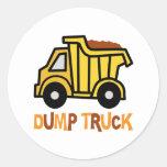 Dump Truck Stickers