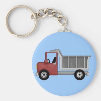 Dump Truck T-shirts and Gifts Keychains