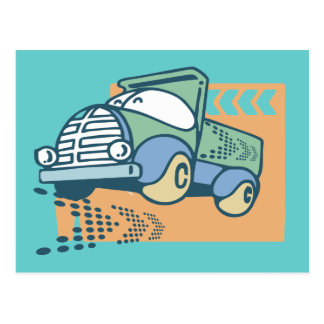Dump Truck T-shirts and Gifts Postcard