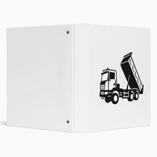 Dump truck tipper vinyl binder