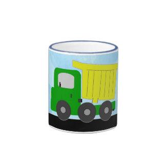 Dump Truck (yellow) Mug