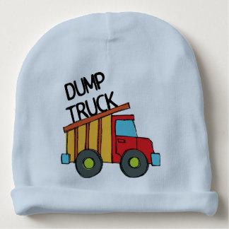 Dump Truck Baby Beanie