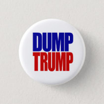 """DUMP TRUMP"" 2.25-inch Button"