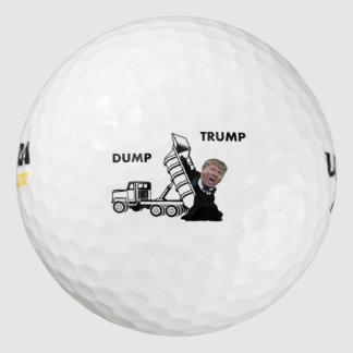Dump Trump aka Dumptruck Trump Golf Balls