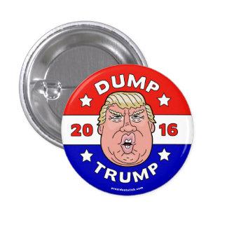 Dump Trump, Anti-Donald Trump 2016 button/pin Button