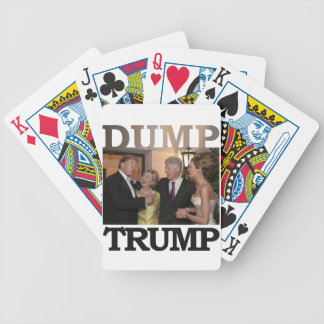 Dump Trump Bicycle Playing Cards