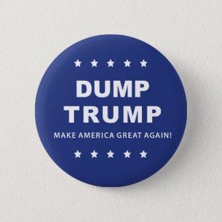 Dump Trump Button | Impeach the President Now