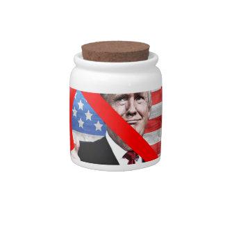 Dump Trump Candy Jar