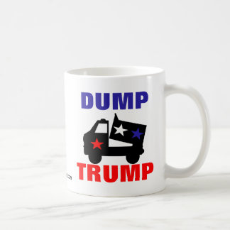 DUMP TRUMP COFFEE MUG