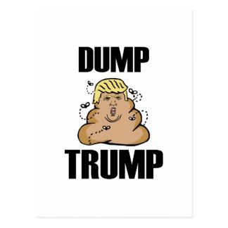 Dump Trump funny Postcard