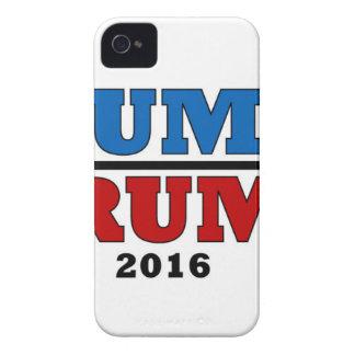 Dump Trump Hillary President 2016 Funny iPhone 4 Cover
