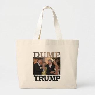 Dump Trump Large Tote Bag