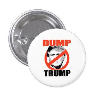 Dump Trump Now 1 Inch Round Button