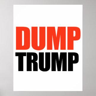 Dump Trump - -  Poster