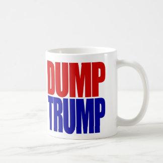 """DUMP TRUMP"" (right-handed) Coffee Mug"