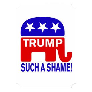 Dump Trump, Such a shame! Card