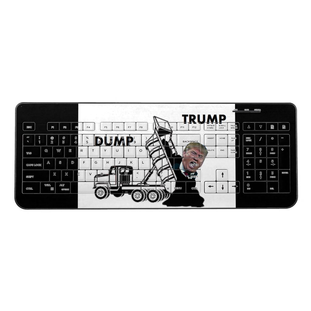 Dump Trump Wireless Keyboard