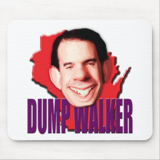 Dump Wisconsin Governor Scott Walker Mouse Pad