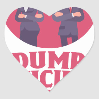 Dump Your Significant Jerk Day - Appreciation Day Heart Sticker