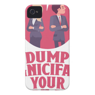 Dump Your Significant Jerk Day - Appreciation Day iPhone 4 Case
