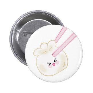 dumpling and chopsticks button