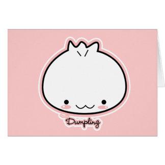 Dumpling Card