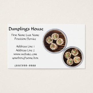Dumpling House Business Card