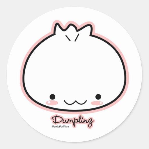 dumpling sticker sheet