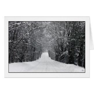 Dumprun Snowstorm Card