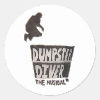 Dumpster Diver ... the musical sticker