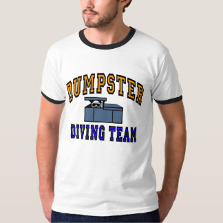 Dumpster Diving Team Logo T Shirt