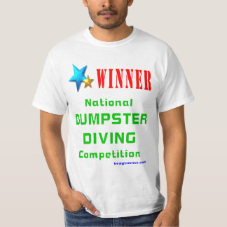Dumpster Diving Tee Shirt