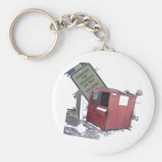 Dumpster Keychain