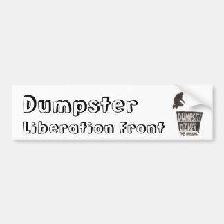Dumpster Liberation Front - Dumpster Diver Bumper Sticker