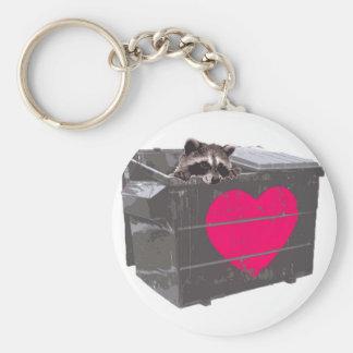 Dumpster Love Keychain