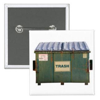 Dumpster Pinback Button