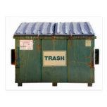Dumpster Post Cards