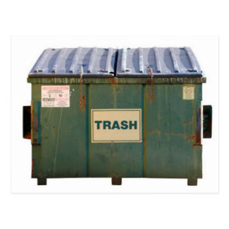 Dumpster Postcard